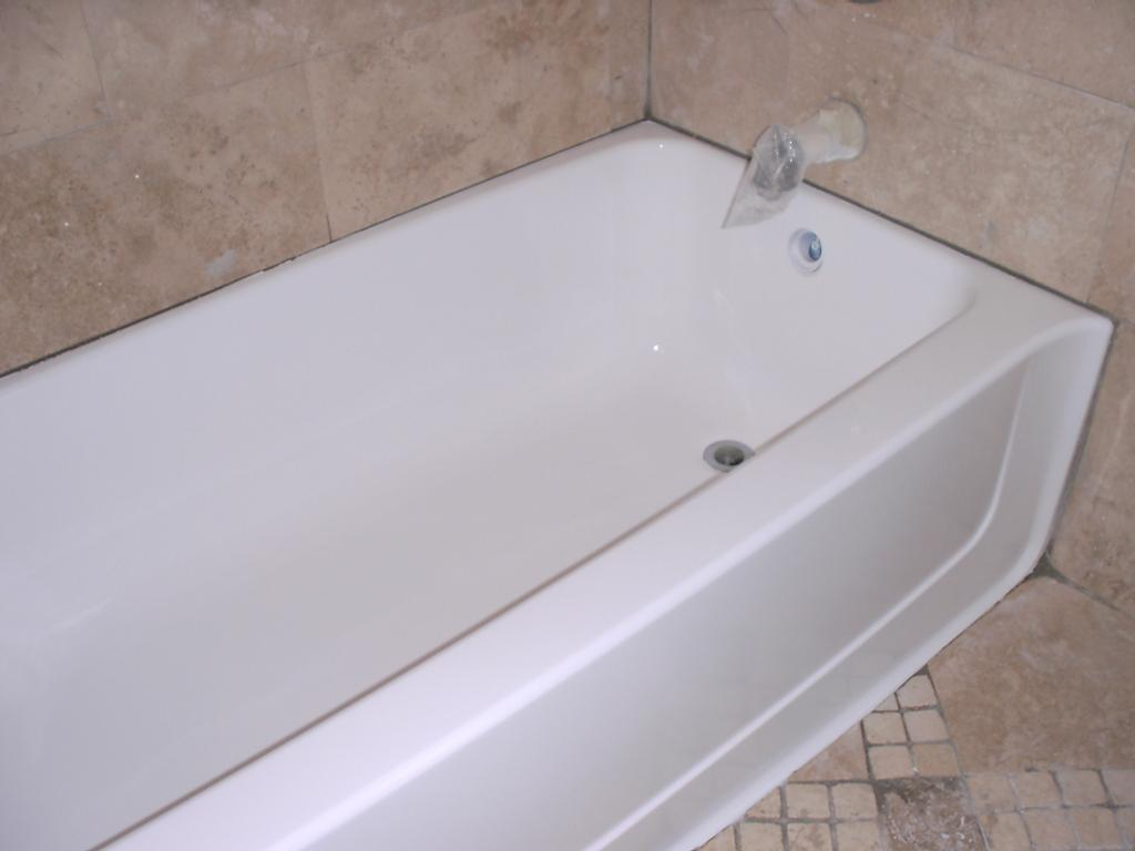 Photo gallery for Bathtub repair